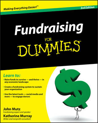 Fundraising for Dummies by John Mutz image
