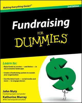 Fundraising for Dummies by John Mutz image