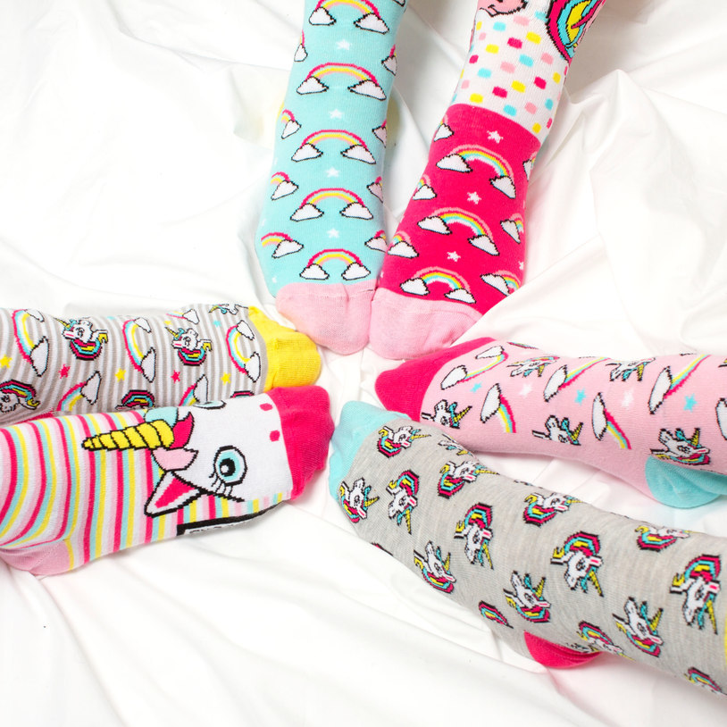 Be a Unicorn Socks image