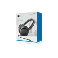 Sennheiser HD 400S Wired Over-Ear Headphones with Mic - Black