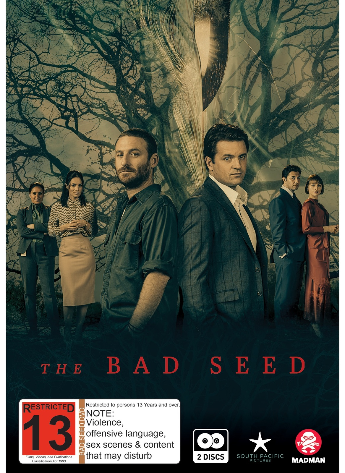The Bad Seed on DVD image
