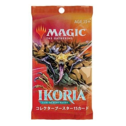 Magic the Gathering: Ikoria: Lair of Behemoths - Collector Booster Japanese