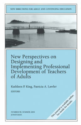 New Perspectives on Designing and Implementing Professional Development of Teachers of Adults image