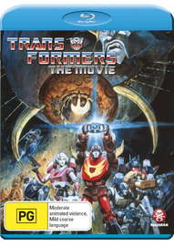 Transformers - The Animated Movie on Blu-ray