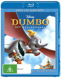 Dumbo: Special Edition on Blu-ray