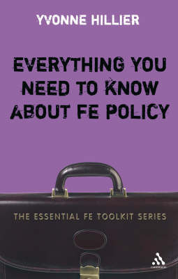 Everything You Need to Know About FE Policy by Yvonne Hillier