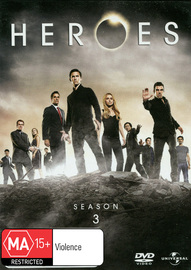 Heroes - Season 3 on DVD