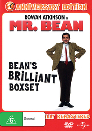 Mr Bean - Bean's Brilliant Collection on DVD