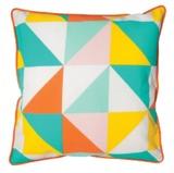 General Eclectic Cushion (Multi Colour Geometric)