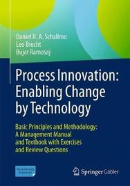 Process Innovation: Enabling Change by Technology by Daniel R.A. Schallmo