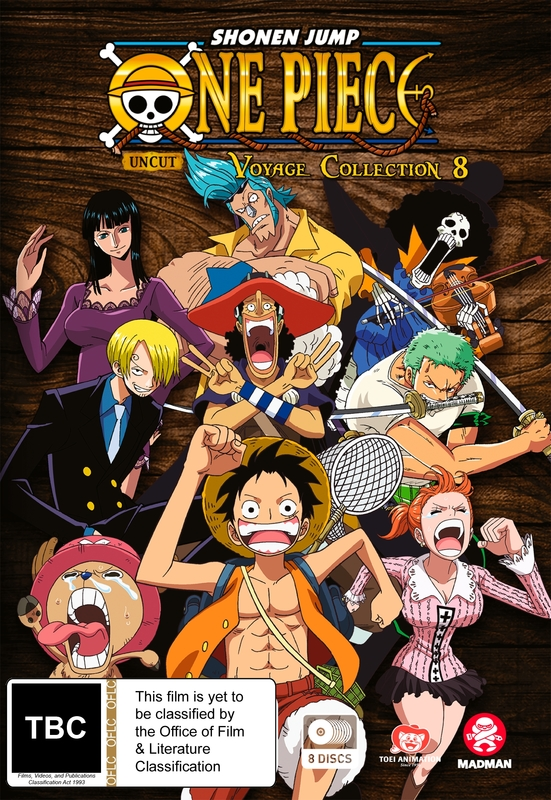 One Piece Voyage - Collection 8 (Eps 349-396) on DVD
