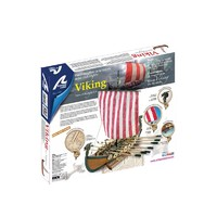 Artesania Latina: 1/75 Wooden Viking Ship - Scale Model