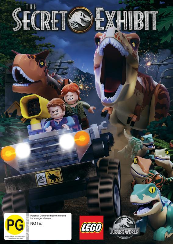 Lego Jurassic: The Secret Exhibit on DVD
