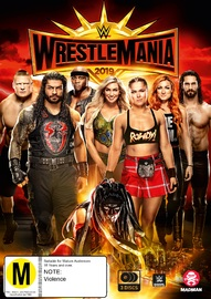 WWE: Wrestlemania 35 on DVD