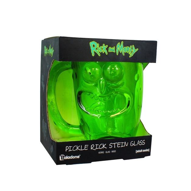 Rick & Morty: Pickle Rick Glass Stein