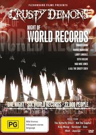 Crusty Night of World Records 1 on DVD