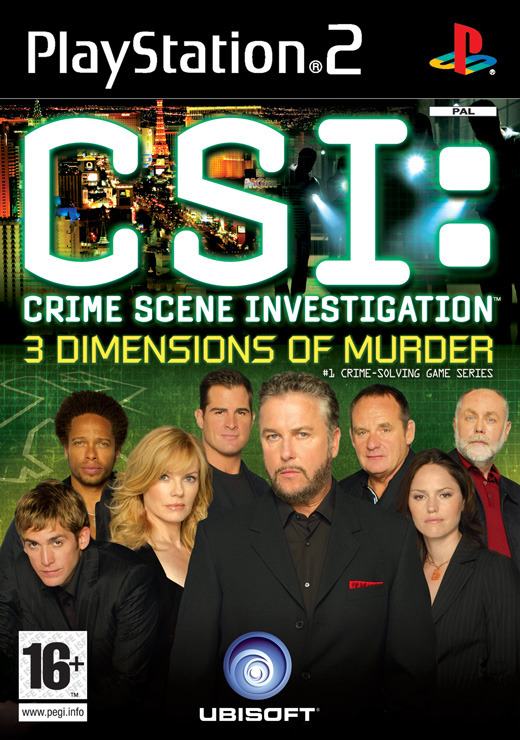 CSI: 3 Dimensions of Murder for PlayStation 2