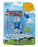 Adventure Time 3 Inch Action Figures - Finn & Slime Princess