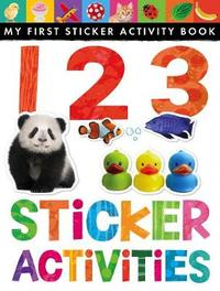 123 Sticker Activities by Little Tiger Press
