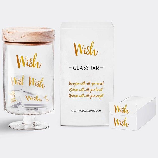 Wish Glass Jar