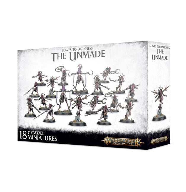 Warhammer Age of Sigmar Slaves To Darkness: The Unmade