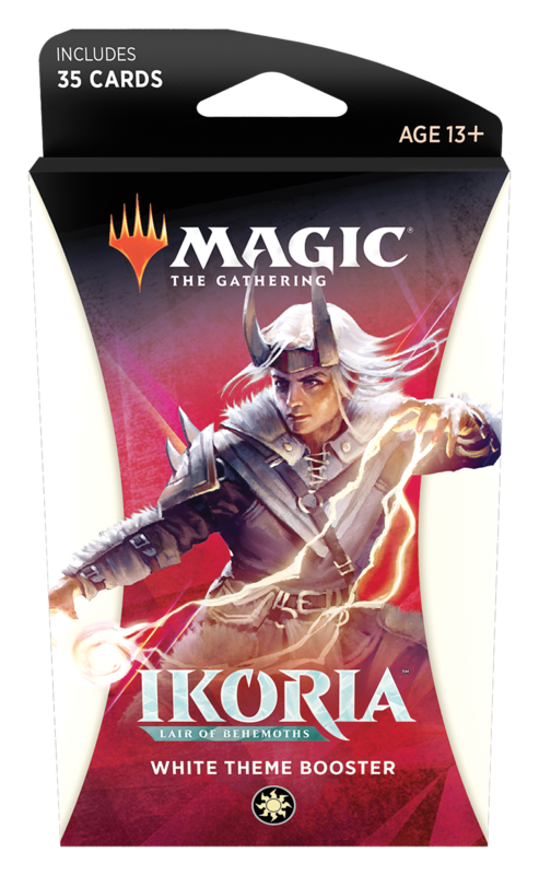 Magic the Gathering: Ikoria: Lair of Behemoths - Theme Booster White