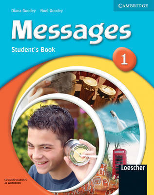 Messages 1 Student's Pack Italian Edition: Level 1 by Diana Goodey