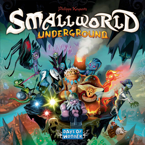 Small World Underground - Board Game