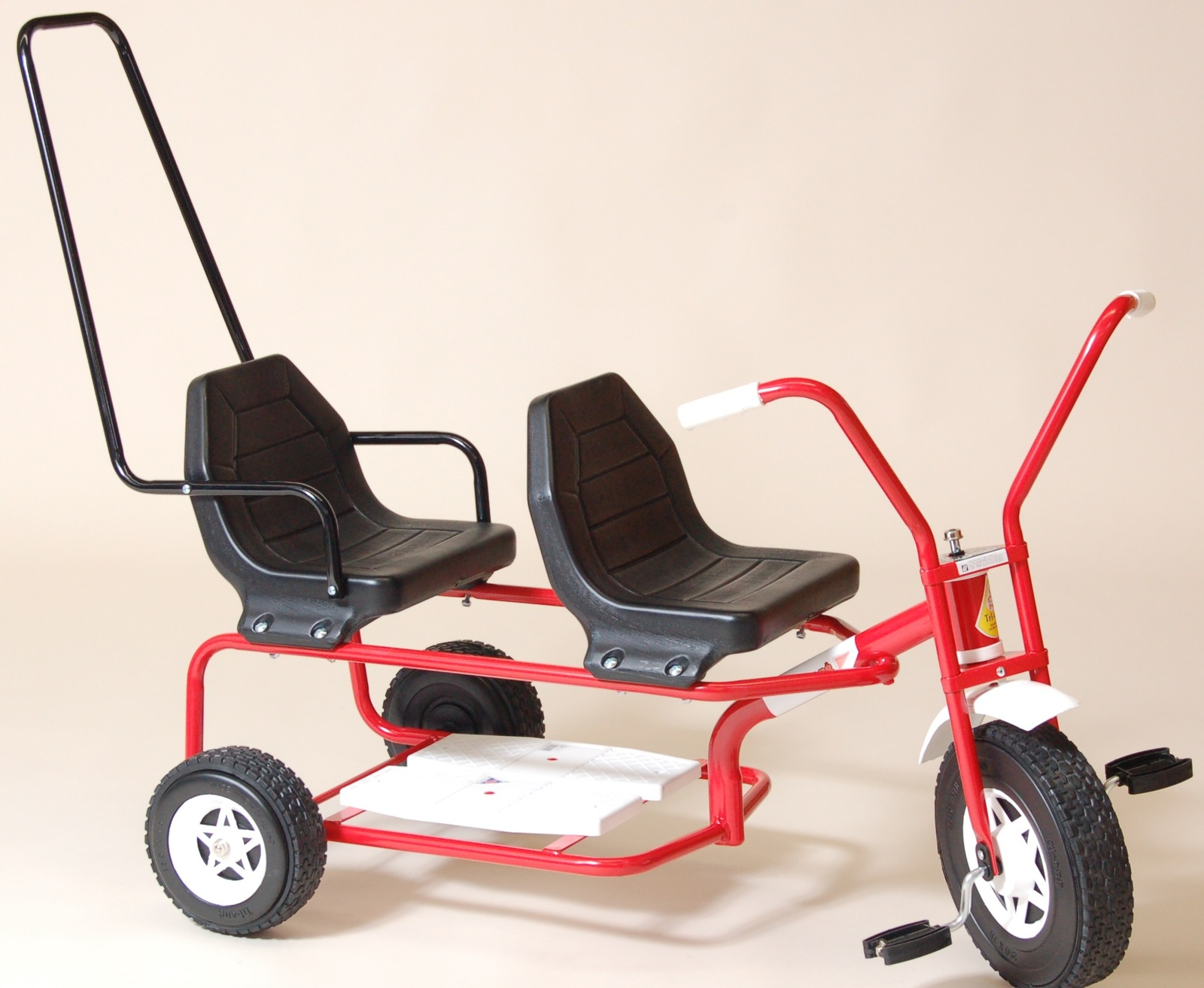 Tandem Trike - Red image