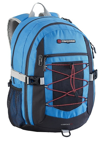 Caribee Cisco Backpack (Atomic Blue/Charcoal)