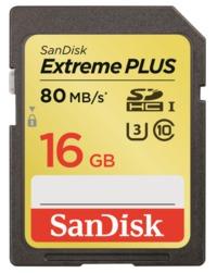 16GB Sandisk Extreme - UHS-I SD Card