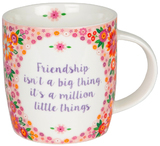 Friendship Is A Million - Flower Pop Mug