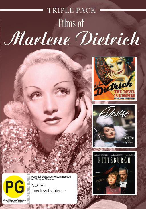 Marlene Dietrich - Triple Pack on DVD image