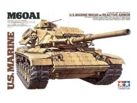 Tamiya: 1/35 U.S. Marine M60A1 W/Reactive Armour - Model Kit image