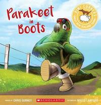 Kiwi Corkers: Parakeet in Boots by Chris Gurney
