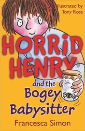 Bogey Babysitter by Francesca Simon image