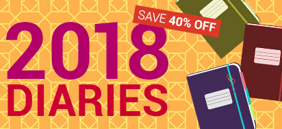 40% Off All Diaries!