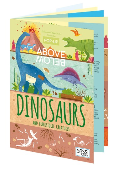 Sassi: Above & Below - Dinosaurs & Prehistoric Creatures Book