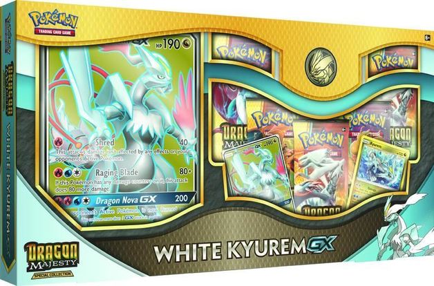 Pokemon TCG: Dragon Majesty Special Collection - White Kyurem-GX