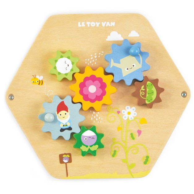 Le Toy Van: Wooden Activity Tile - Gears