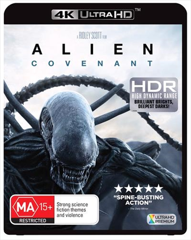 Alien: Covenant on UHD Blu-ray