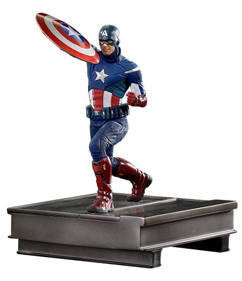 Avengers: Endgame - 1/10 Captain America Duel (2012 ver.) - Battle Diorama Statue