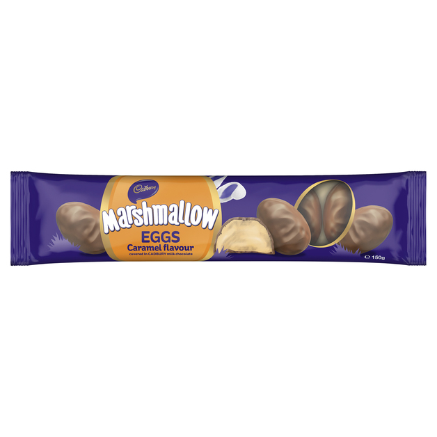 Cadbury: Caramel Marshmallow Eggs (24 x 6 Pack)