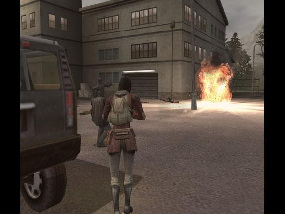 Mercenaries for PlayStation 2 image