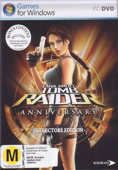 Tomb Raider 10th Anniversary Collector's Edition for PC Games