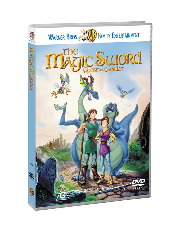 The Magic Sword - Quest for Camelot on DVD