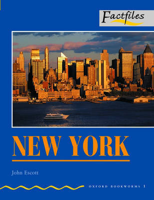 Factfiles: New York: 400 Headwords by John Escott