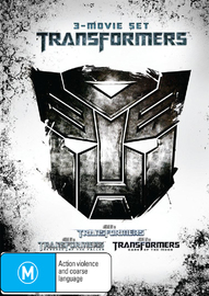 The Transformers Trilogy on DVD