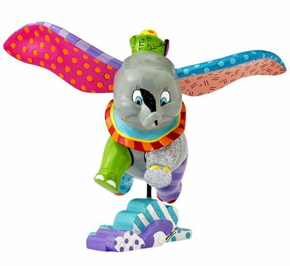Romero Britto: Dumbo Figurine image