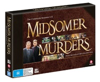 Midsomer Murders: Season 1 - 4 Collection (Limited Edition) on DVD